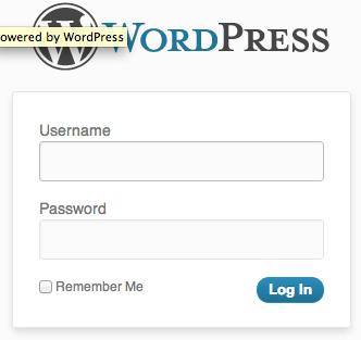 WordPress login widget redirect prevention